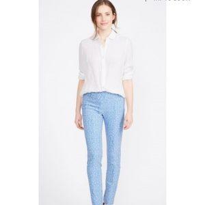 J McLaughlin White Britt linen shirt